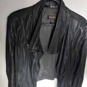 Danier leather women's biker jacket